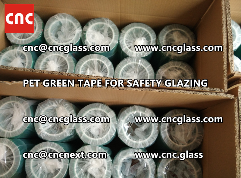 HIGH TEMP GREEN TAPE for safety glazing eva pvb sgp (2)