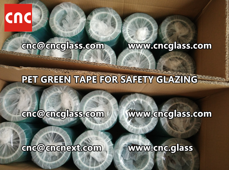 HIGH TEMP GREEN TAPE for safety glazing eva pvb sgp (3)
