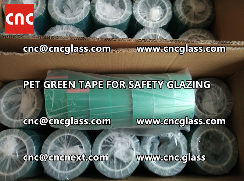 HIGH TEMP GREEN TAPE for safety glazing eva pvb sgp (4)