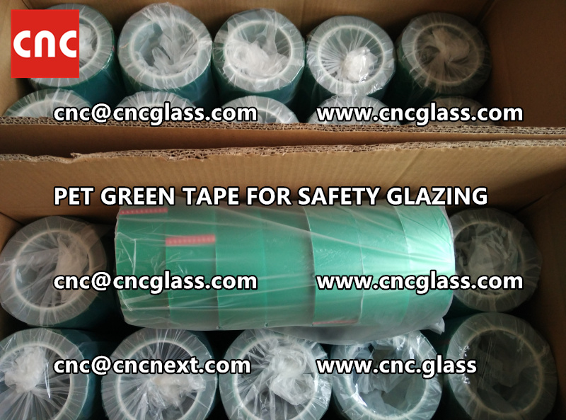 HIGH TEMP GREEN TAPE for safety glazing eva pvb sgp (5)