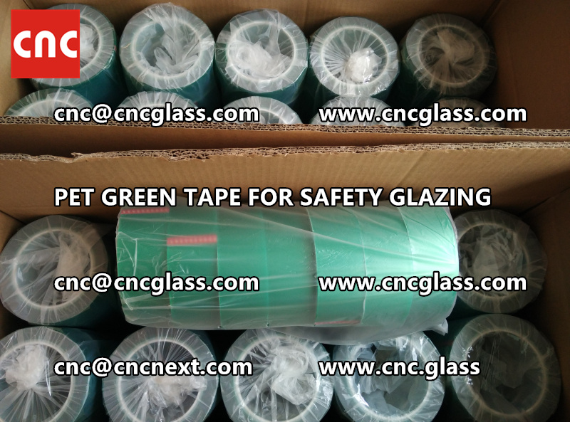 HIGH TEMP GREEN TAPE for safety glazing eva pvb sgp (6)