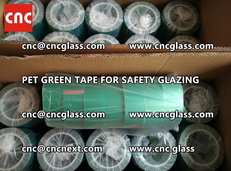 HIGH TEMP GREEN TAPE for safety glazing eva pvb sgp (7)
