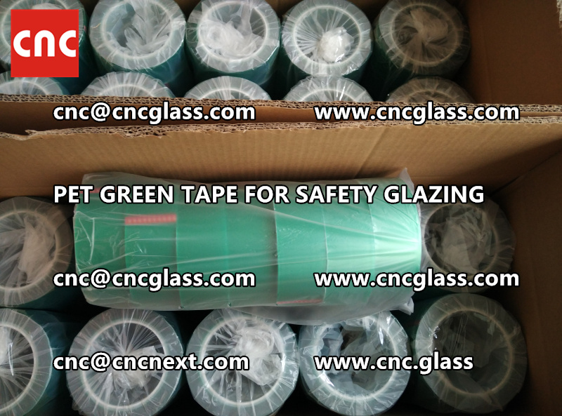 HIGH TEMP GREEN TAPE for safety glazing eva pvb sgp (8)