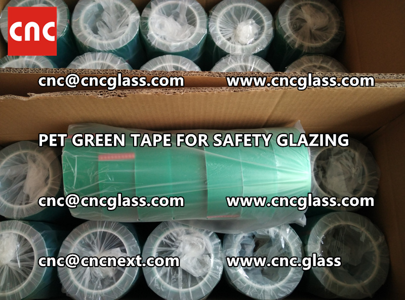 HIGH TEMP GREEN TAPE for safety glazing eva pvb sgp (9)