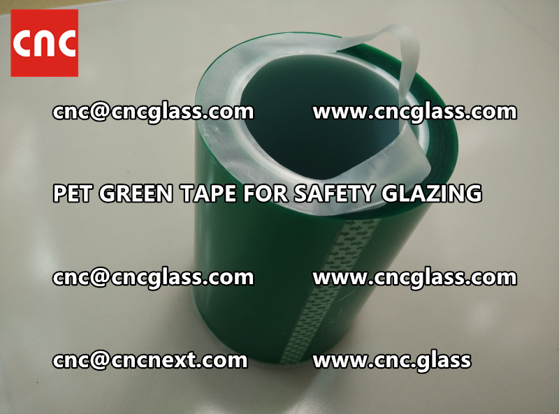 PET GREEN TAPE for eva film lamination (1)