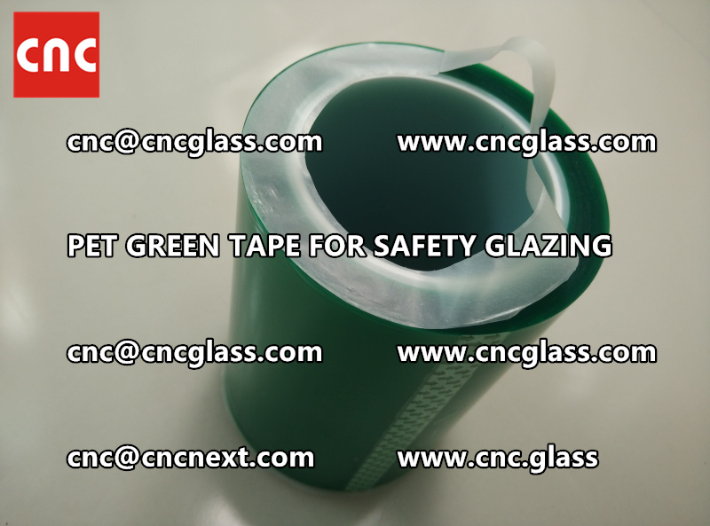 PET GREEN TAPE for eva film lamination (2)