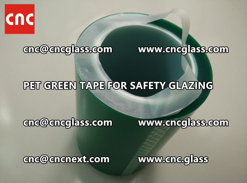 PET GREEN TAPE for eva film lamination (3)