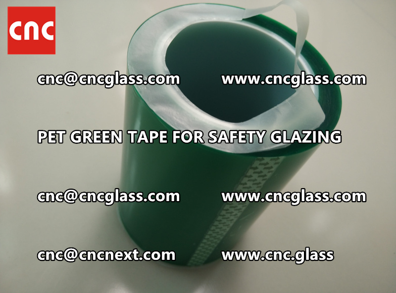 PET GREEN TAPE for eva film lamination (4)