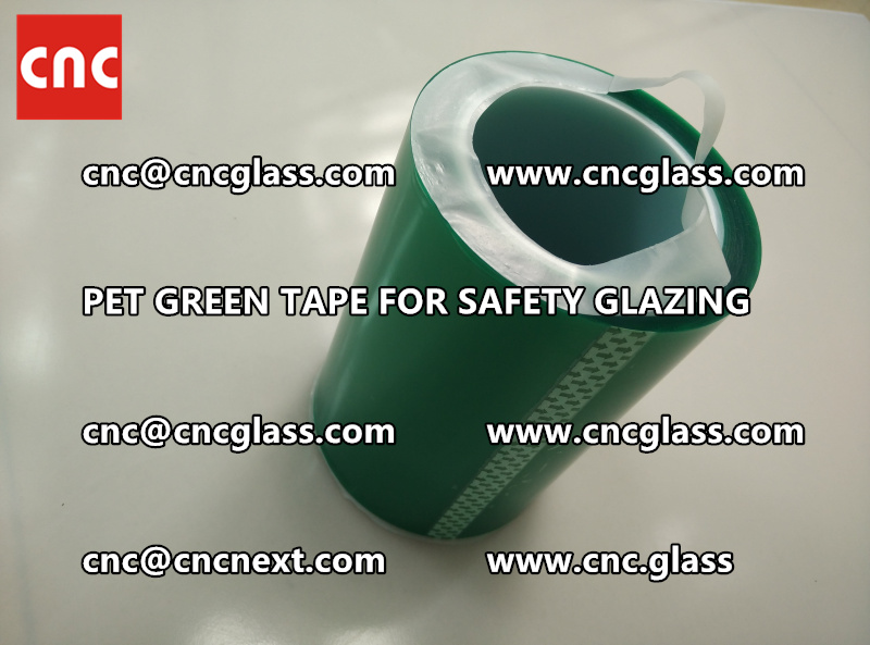 PET GREEN TAPE for eva film lamination (5)