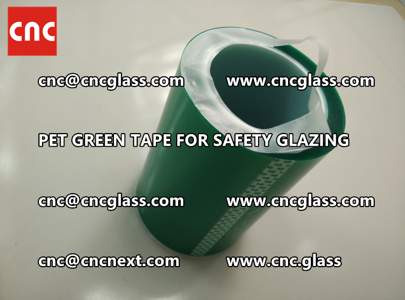 PET GREEN TAPE for eva film lamination (6)