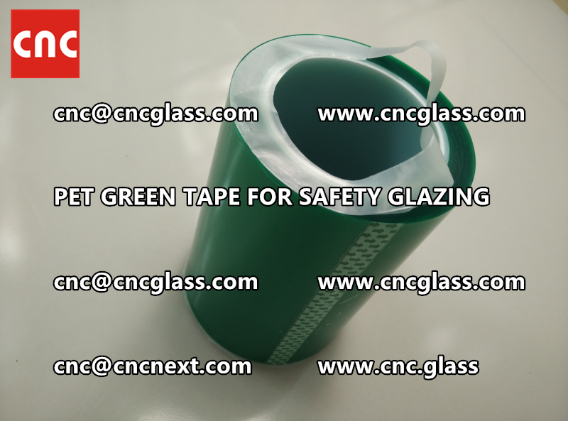 PET GREEN TAPE for eva film lamination (7)