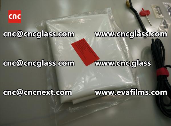 SAFETY GLASS INTERLAYER FILM eva film samples (3)