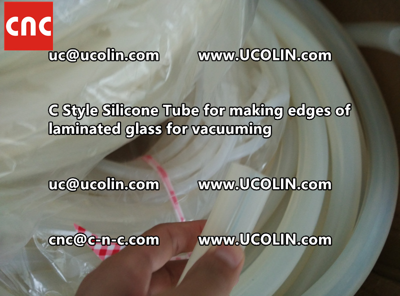 C style silicone tube(vacuum tube) is specially designed for bend glass laminating (19)