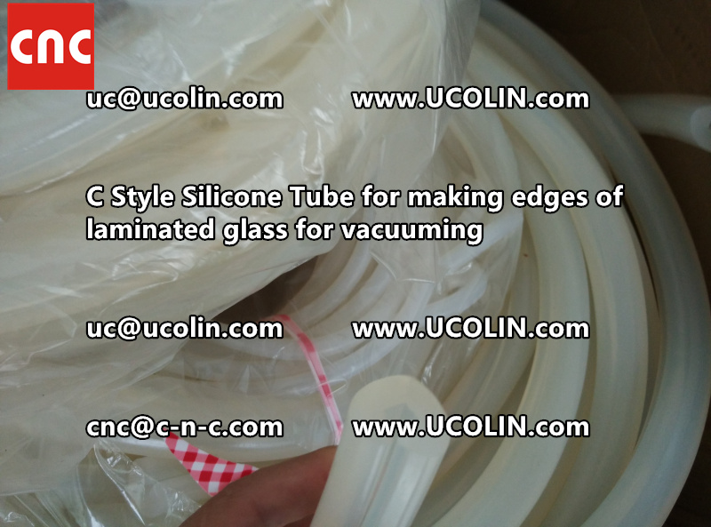 C style silicone tube(vacuum tube) is specially designed for bend glass laminating (20)