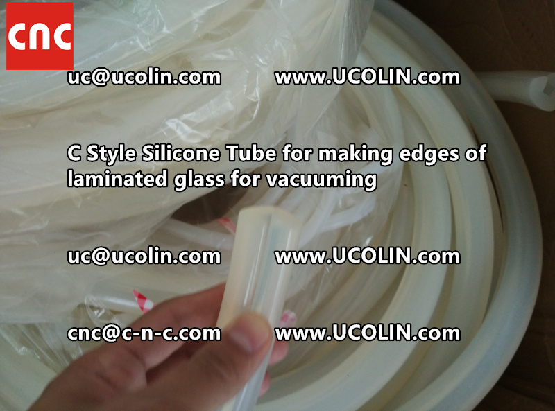 C style silicone tube(vacuum tube) is specially designed for bend glass laminating (23)