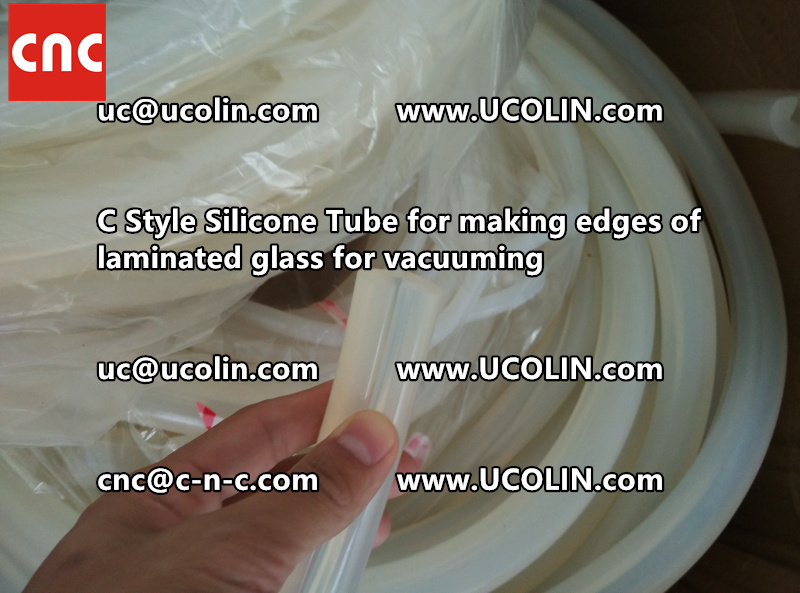 C style silicone tube(vacuum tube) is specially designed for bend glass laminating (24)