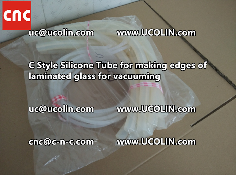 C style silicone tube(vacuum tube) is specially designed for bend glass laminating (25)