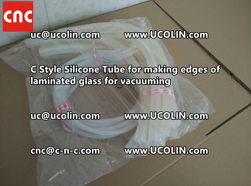 C style silicone tube(vacuum tube) is specially designed for bend glass laminating (26)