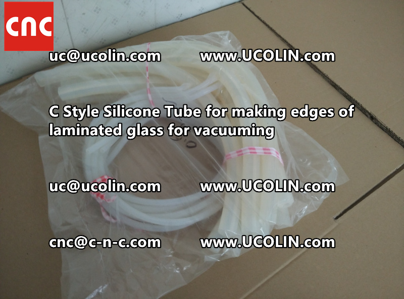 C style silicone tube(vacuum tube) is specially designed for bend glass laminating (27)