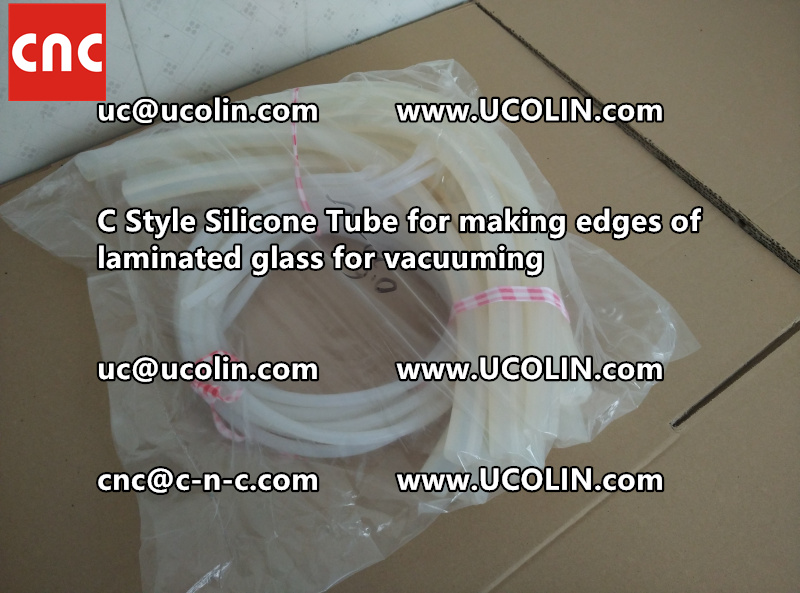 C style silicone tube(vacuum tube) is specially designed for bend glass laminating (28)