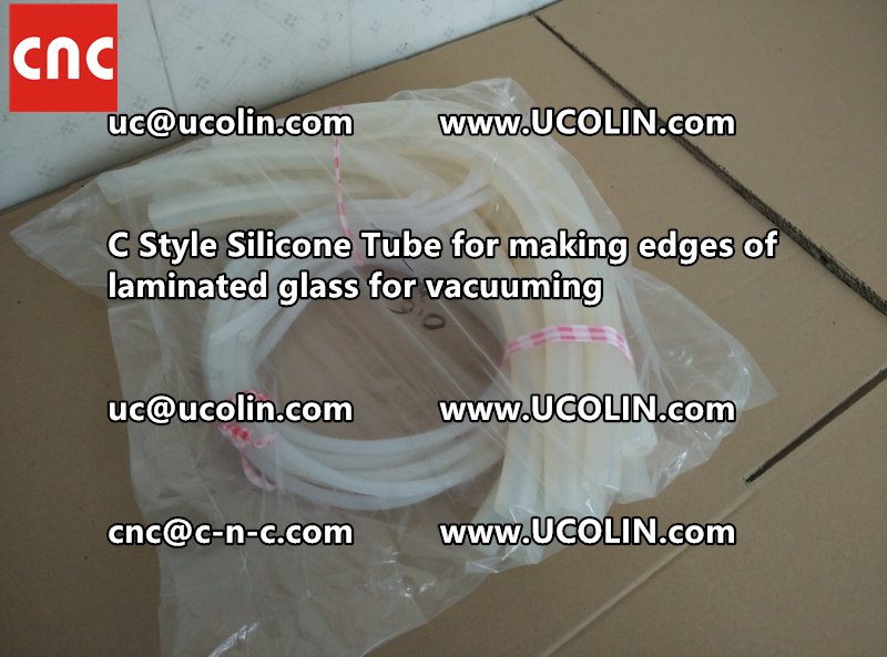 C style silicone tube(vacuum tube) is specially designed for bend glass laminating (29)