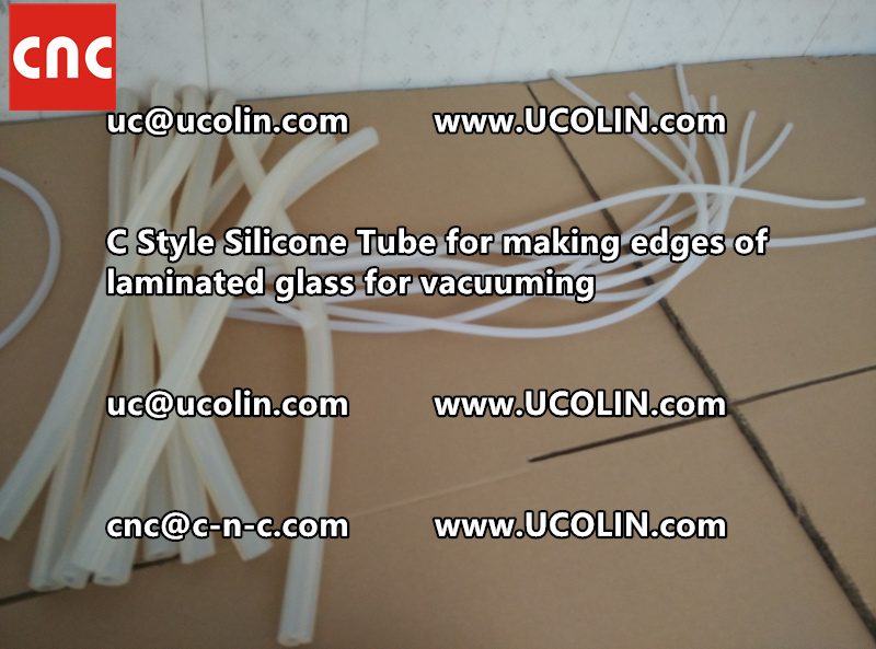 C style silicone tube(vacuum tube) is specially designed for bend glass laminating (32)