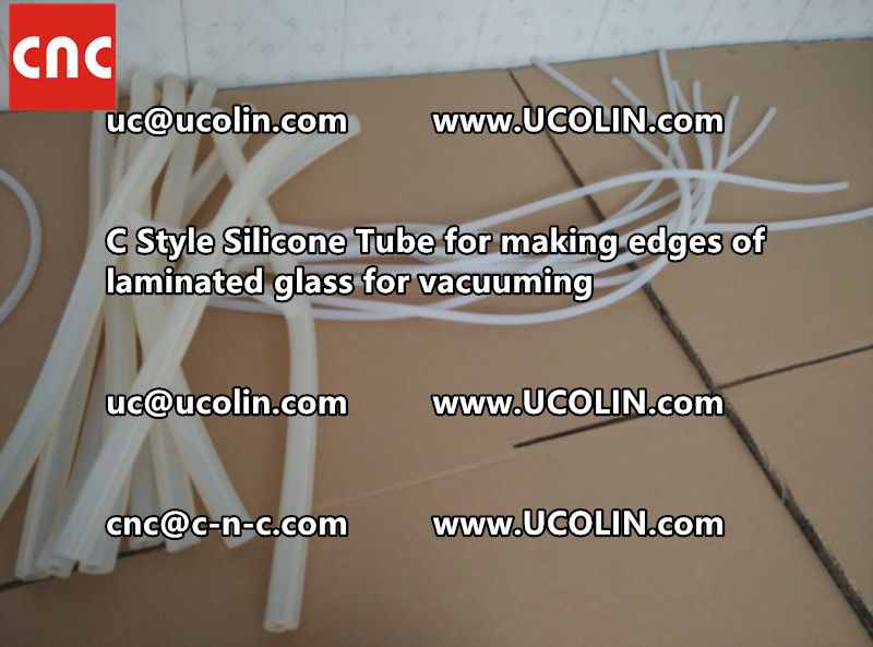C style silicone tube(vacuum tube) is specially designed for bend glass laminating (33)
