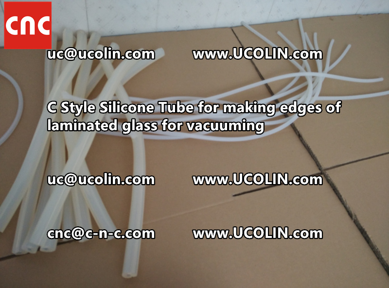 C style silicone tube(vacuum tube) is specially designed for bend glass laminating (34)
