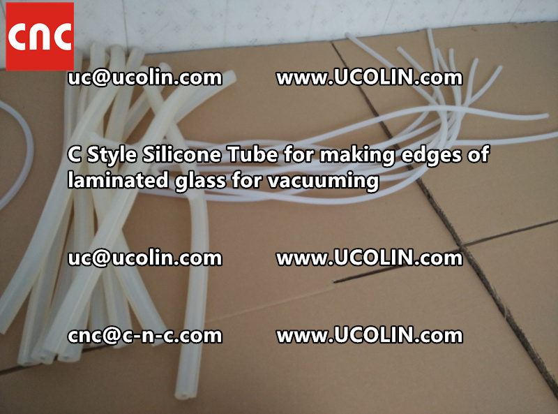 C style silicone tube(vacuum tube) is specially designed for bend glass laminating (35)