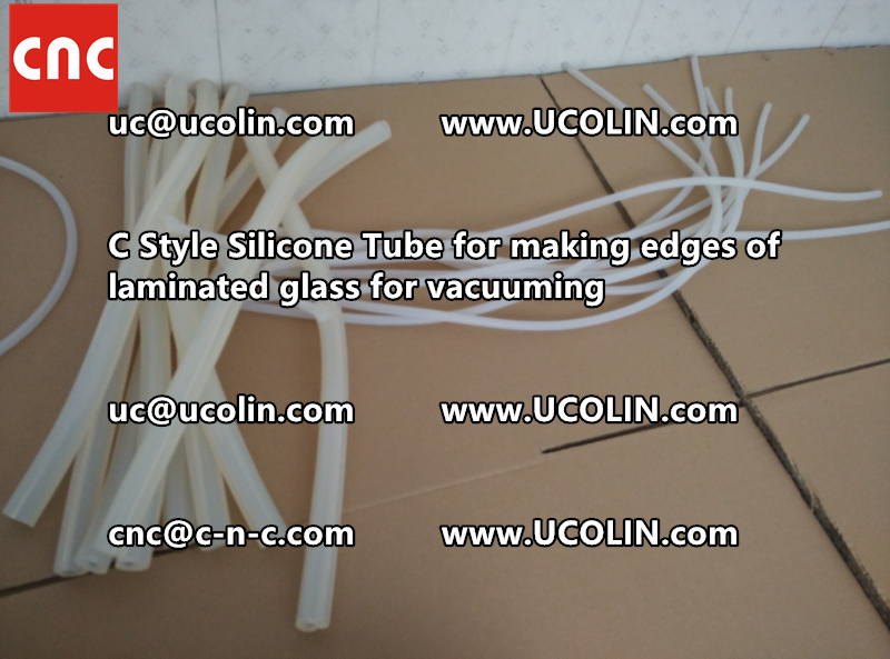 C style silicone tube(vacuum tube) is specially designed for bend glass laminating (36)