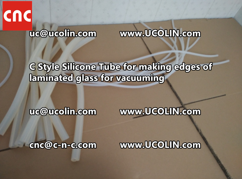 C style silicone tube(vacuum tube) is specially designed for bend glass laminating (38)