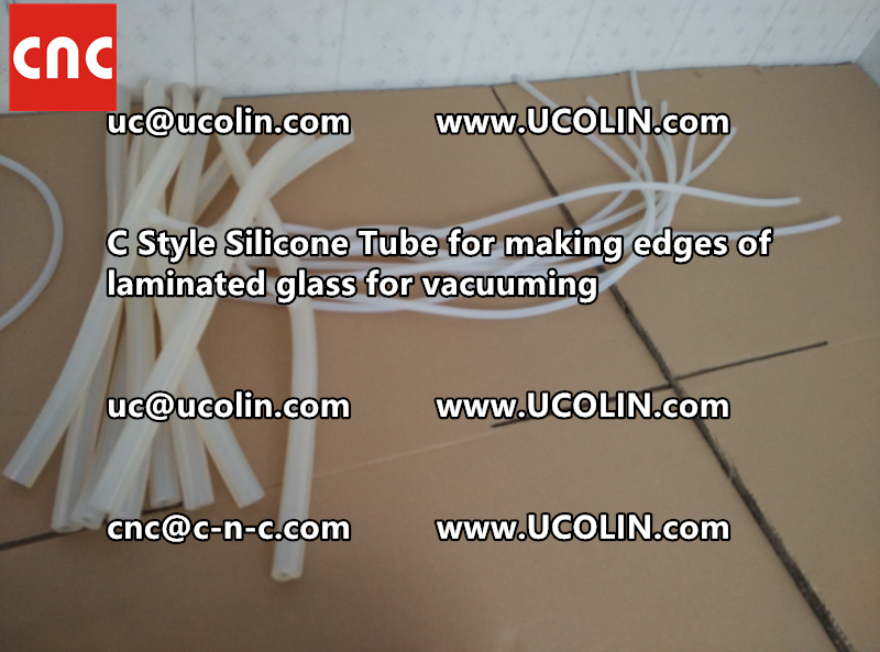 C style silicone tube(vacuum tube) is specially designed for bend glass laminating (39)