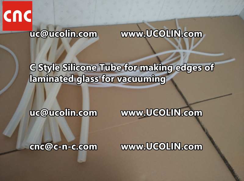 C style silicone tube(vacuum tube) is specially designed for bend glass laminating (40)