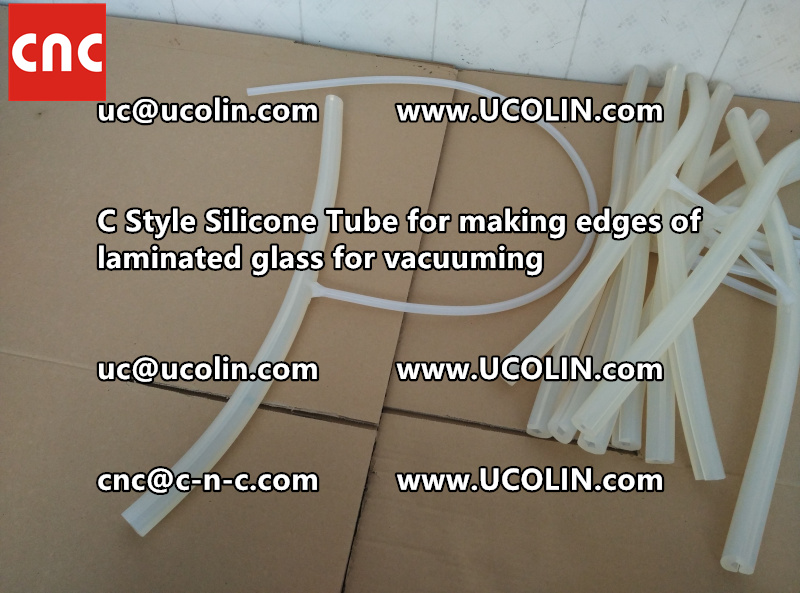 C style silicone tube(vacuum tube) is specially designed for bend glass laminating (42)
