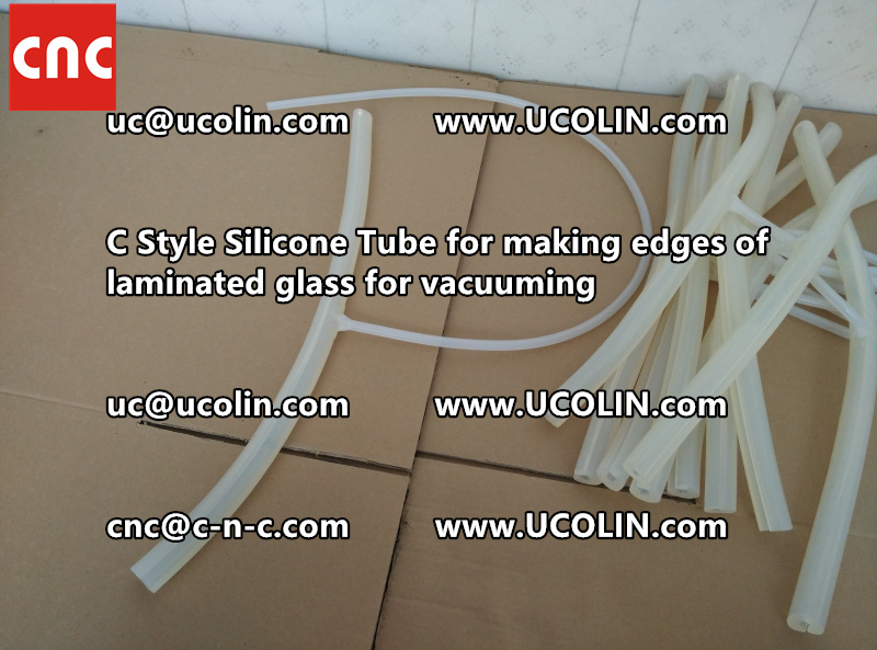 C style silicone tube(vacuum tube) is specially designed for bend glass laminating (44)