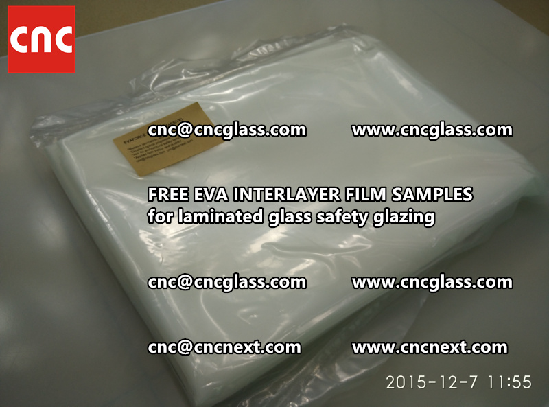 FREE EVA INTERLAYER FILM samples for safety glazing (10)