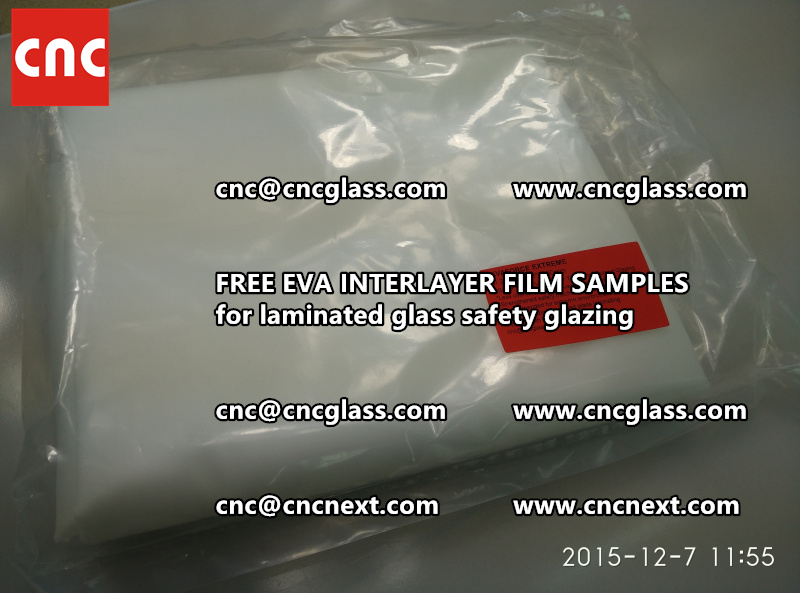 FREE EVA INTERLAYER FILM samples for safety glazing (12)