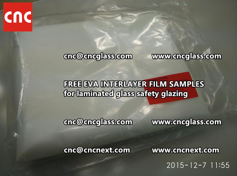 FREE EVA INTERLAYER FILM samples for safety glazing (12)