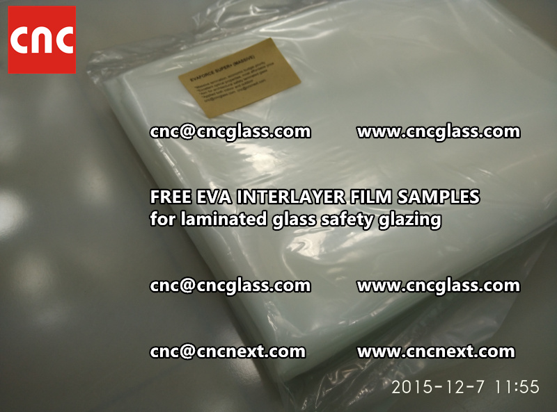 FREE EVA INTERLAYER FILM samples for safety glazing (2)
