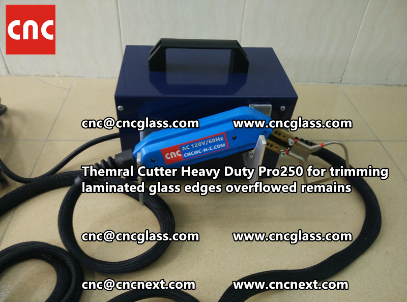 HOT KNIFE THERMAL KNIFE HEATING CUTTER for safety laminated glass cleaning (32)