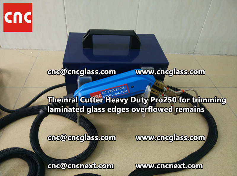 HOT KNIFE THERMAL KNIFE HEATING CUTTER for safety laminated glass cleaning (35)