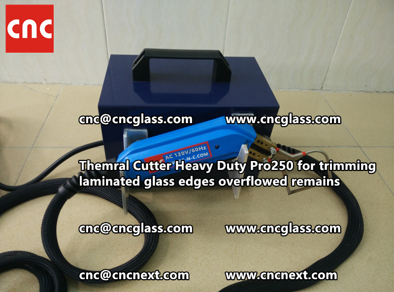 HOT KNIFE THERMAL KNIFE HEATING CUTTER for safety laminated glass cleaning (36)