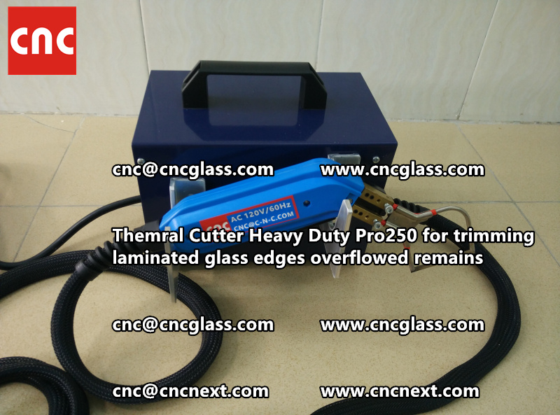 HOT KNIFE THERMAL KNIFE HEATING CUTTER for safety laminated glass cleaning (37)