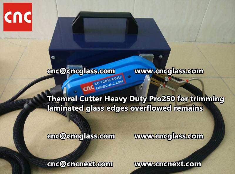 HOT KNIFE THERMAL KNIFE HEATING CUTTER for safety laminated glass cleaning (39)