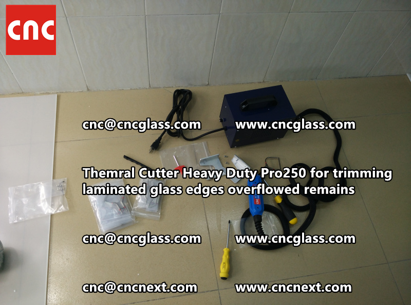 HOT KNIFE THERMAL KNIFE HEATING CUTTER for safety laminated glass cleaning (4)