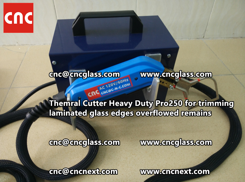 HOT KNIFE THERMAL KNIFE HEATING CUTTER for safety laminated glass cleaning (41)