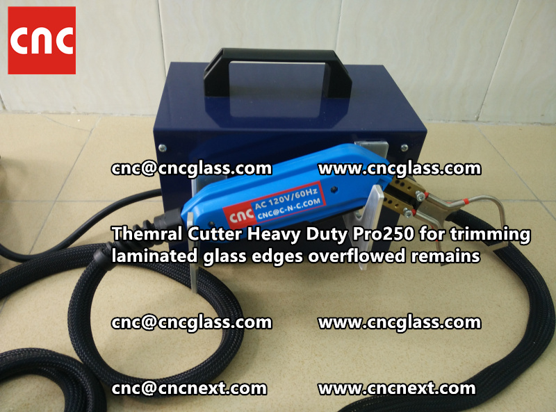 HOT KNIFE THERMAL KNIFE HEATING CUTTER for safety laminated glass cleaning (53)