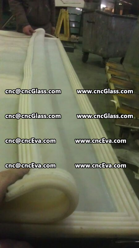 Silicone vacuum bag for eva film laminating oven vacuuming (8)