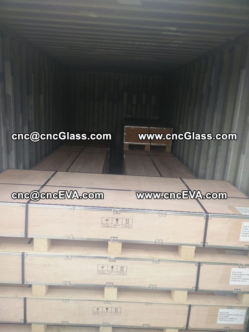 plywood case packing of eva film interlayer for lami glass (2)