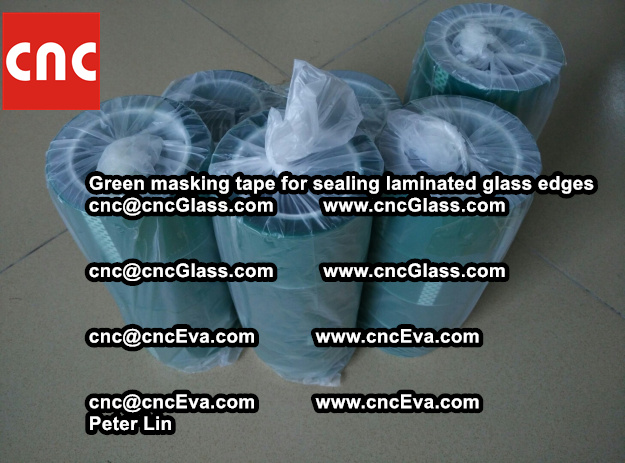 green-masking-tape-for-sealing-laminated-glass-edges-1